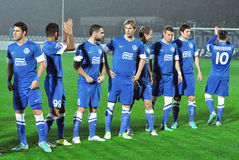 Dnipro football team Stock Images