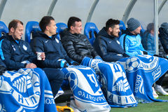 Dnipro players Royalty Free Stock Images