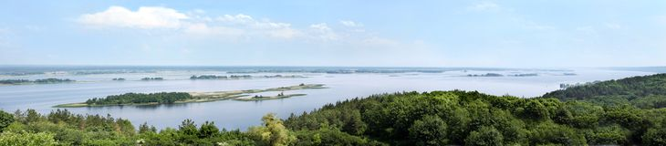 Dnipro river Stock Photography