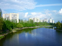 Dnipro River Royalty Free Stock Photography