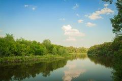 Dnipro rzeka Fotografia Royalty Free
