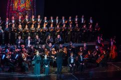 Requiem by Mozart stock photo