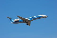 Dniproavia Embraer ERJ-145 Fotos de archivo libres de regalías