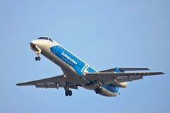 Dniproavia Embraer ERJ-145 Imagen de archivo libre de regalías