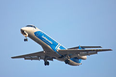 Dniproavia Embraer ERJ-145 Lizenzfreies Stockbild