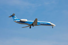 Dniproavia Embraer ERJ-145 Stock Images