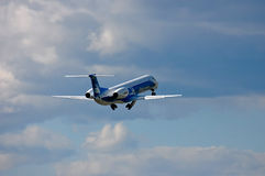 Dniproavia Embraer ERJ-145 Royalty Free Stock Photography