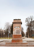 DNIPRODZERZHYNSK, UKRAINE LE 23 FÉVRIER 2014 : Destr de démonstrateurs Photographie stock