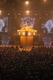 Dnipropetrovsk, Ουκρανία - 31 Οκτωβρίου 2012: Ορχήστρα ροκ σκορπιών στοκ φωτογραφίες