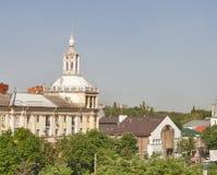 Dnipropetrovsk pejzaż miejski, Ukraina Fotografia Stock