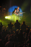 Dnipropetrovsk, Ucraina 31 ottobre 2012: Matthias Jabs dalla banda rock degli scorpioni Fotografia Stock Libera da Diritti