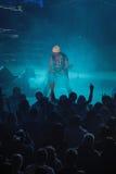 Dnipropetrovsk Ukraina, Październik, - 31, 2012: Skorpionu zespół rockowy zdjęcia stock