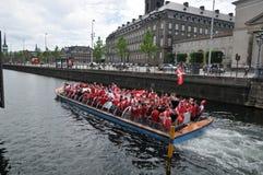 Free Dnish Football Fans Celebrate UEFA Euro 2020 In Denmark Stock Photo - 221067980