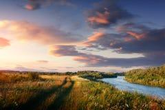 Dnisrter est une rivière en Europe de l'Est Image stock