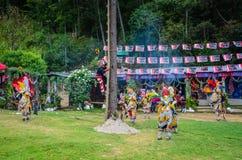 Dno słup Gwatemala - taniec ulotki - Obraz Royalty Free
