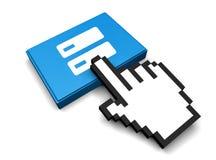 DNS-Ikone Lizenzfreies Stockfoto