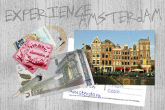 Doświadczenie Amsterdam fotografia royalty free