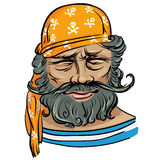 doświadczony żeglarz royalty ilustracja