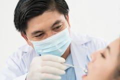 Doświadczony dentysta Fotografia Stock