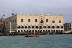 Doża pałac San Marco w Wenecja, Włochy obrazy royalty free