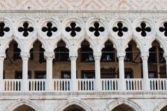Doża pałac w St Mark kwadracie zdjęcia royalty free