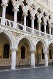 Doże pałac, Wenecja, Włochy Fotografia Royalty Free
