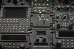 ? do ¹ do instrumentà do controle digital da aviónica do voo Foto de Stock Royalty Free