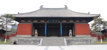 Do ¼ budista do architectureï de ŒAncient do ¼ de Huayan Templeï arquitetura budista chinesa de ŒAncient foto de stock