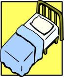 do łóżka Zdjęcie Stock