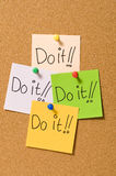 Do It ! Royalty Free Stock Image