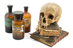 Do alchimist a vida ainda Imagens de Stock Royalty Free