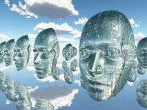 Do androids dream of electric sheep Royalty Free Stock Photo