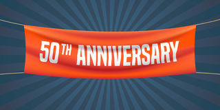 25 do aniversário anos de ilustração do vetor, bandeira, inseto, logotipo, ícone Foto de Stock