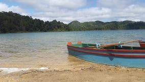 ` Do barco e dos lagos do ` Imagens de Stock Royalty Free