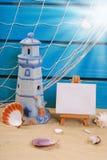 Do beira-mar das férias de verão vida ainda Fotografia de Stock Royalty Free
