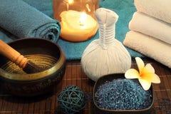 Do bem-estar da massagem vida ainda Fotos de Stock