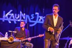 Do Bronner kwintetu przy Kaunas jazzem 2015 Zdjęcia Royalty Free