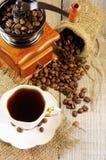 Do café vida ainda Fotografia de Stock