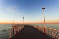 Do cais de Marina di Massa Imagens de Stock Royalty Free