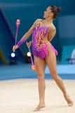 32do Campeonato del mundo de la gimnasia rítmica Imagen de archivo libre de regalías