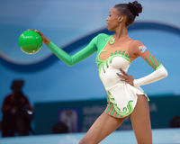 32do Campeonato del mundo de la gimnasia rítmica Foto de archivo