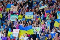 32do Campeonato del mundo de la gimnasia rítmica Foto de archivo libre de regalías