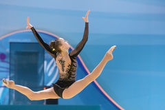 32do campeonato del mundo en gimnasia rítmica Imagen de archivo libre de regalías