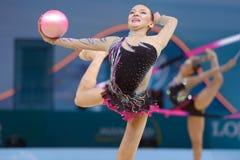 32do Campeonatos del mundo de la gimnasia rítmica Fotografía de archivo
