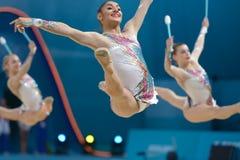 32do Campeonatos del mundo de la gimnasia rítmica Imagenes de archivo