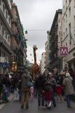 2do carnaval del ` s del storico del centro en Nápoles 2017 Fotos de archivo libres de regalías