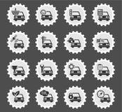 Do carro do serviço ícones simplesmente Foto de Stock