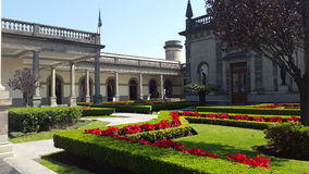 ` do castelo de Chapultepec do ` Fotos de Stock