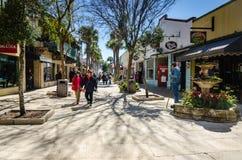 Do centro - St Augustine, Florida Imagem de Stock Royalty Free