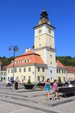 do centrum miasta brasov stary Romania Fotografia Royalty Free